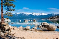 Sand Harbor Reflections, Lake Tahoe, NV