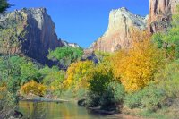 Court of the Patriarchs, Zion, Utah