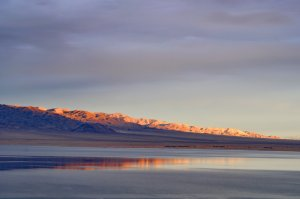 Alpenglow, Walker Lake