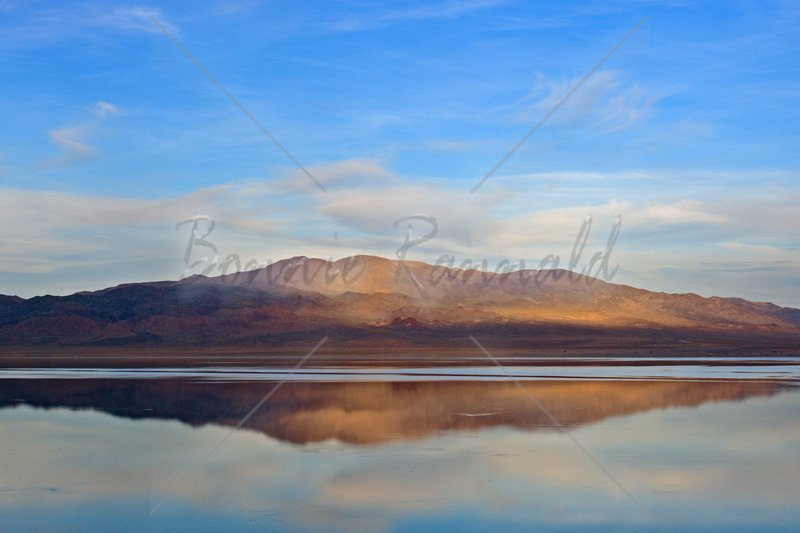 Sunset Reflections, Walker Lake, NV - Click Image to Close